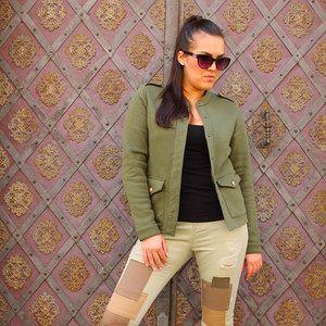 Look Army outfit od značky Scotch & Soda od Different.cz