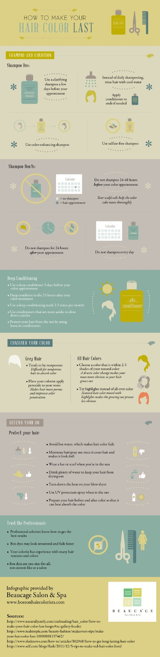 Are you considering coloring your hair at home? Unfortunately, box products are a one-size-fits-all venture and can make your hair look unnatural or fade fast. Learn about the benefits of trusting a professional hair colorist by reading this infographic.