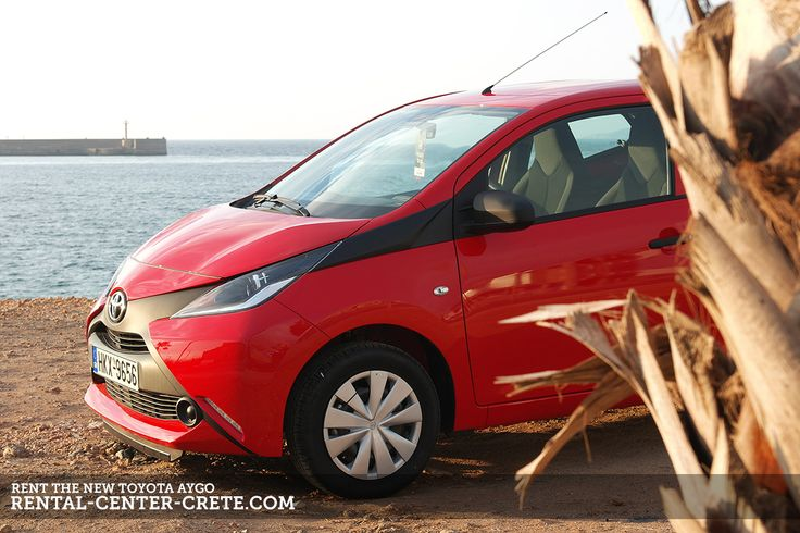 The NEW #Toyota Aygo is here! Book & Rent it at Rental Center Crete   ▶ http://www.rental-center-crete.com/cars/group-a/toyota-aygo.html