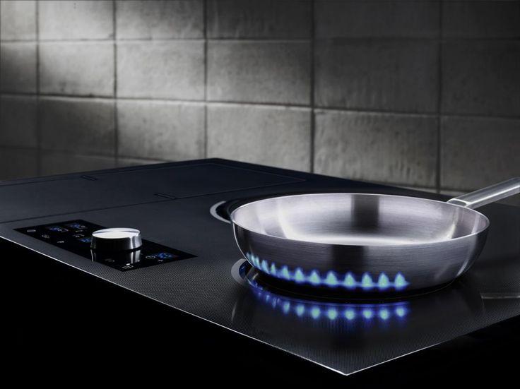 Samsung inductie kookplaat met virtual flame technologie