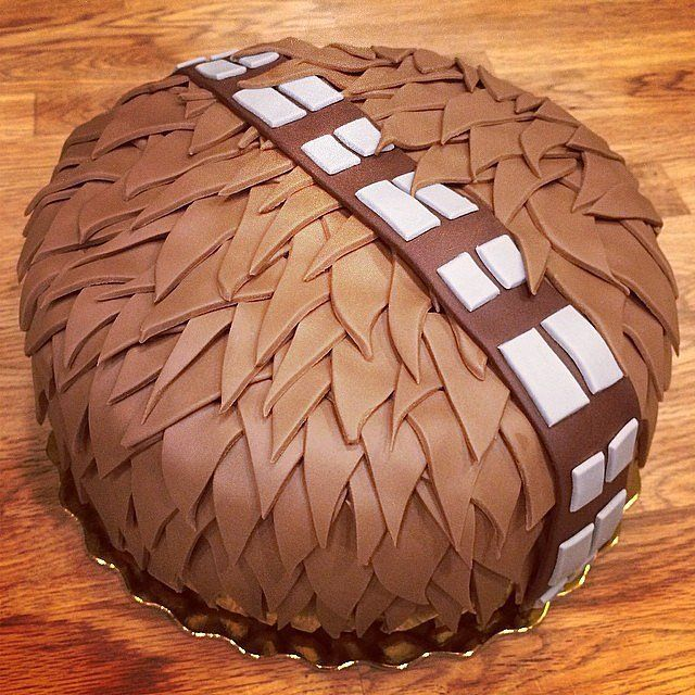 Chewbacca Cake: Who thought a hairy beast could look so tasty? Source: Instagram user superbakedgoods