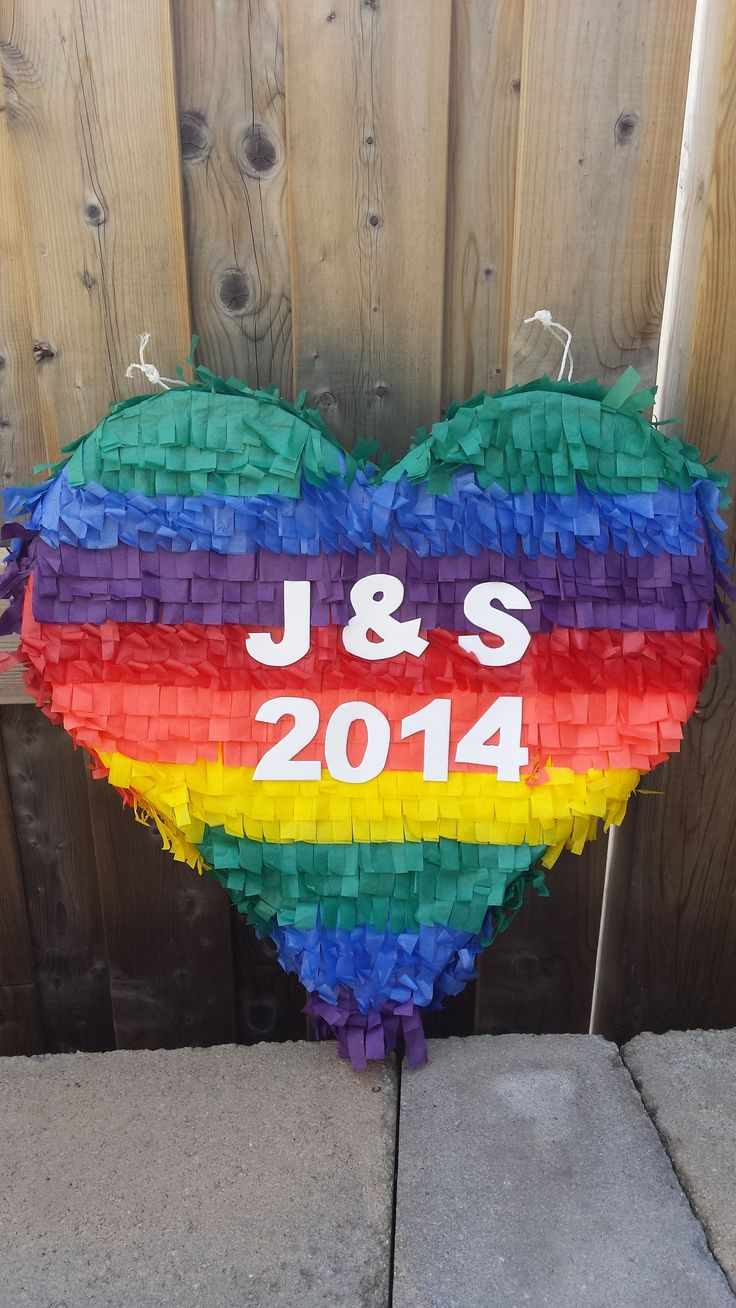 pinata ideas wedding pinata Gay wedding pi ata