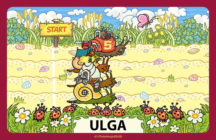 © Barnabus - #Gra edukacyjna ▪ Educational #game The Letters Race - screen 04.