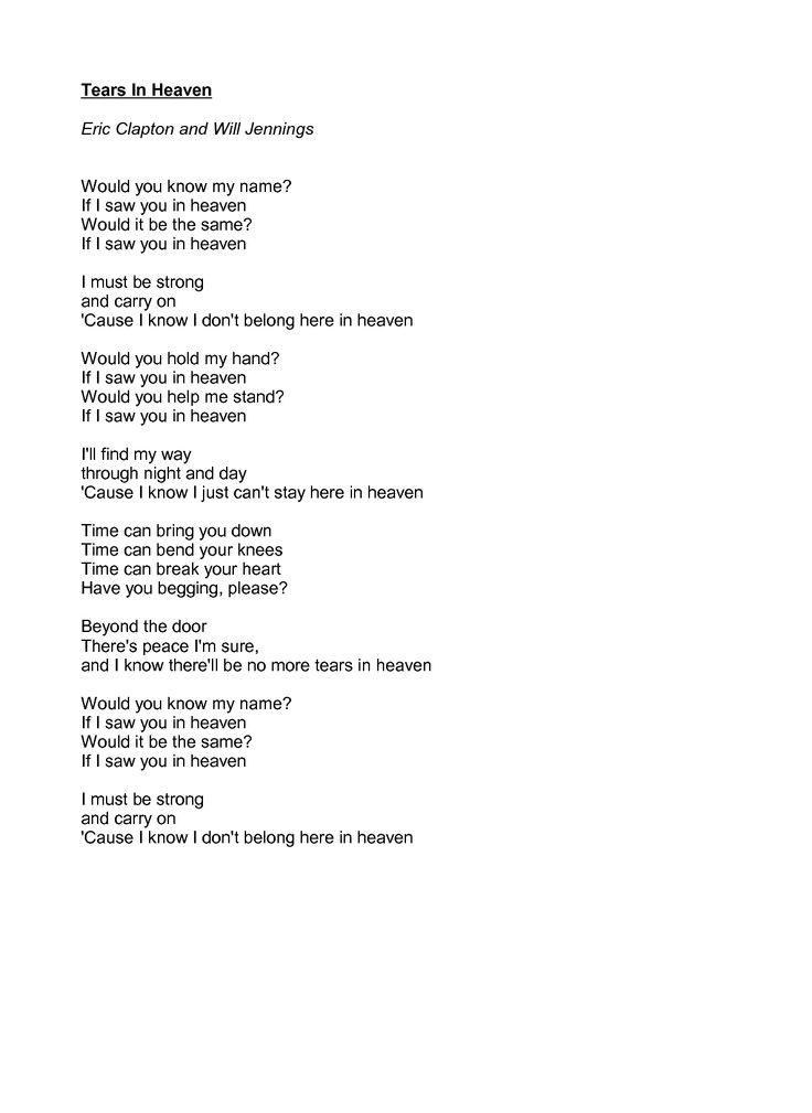 Take Me to Heaven Lyrics - Sister Act The Musical musical