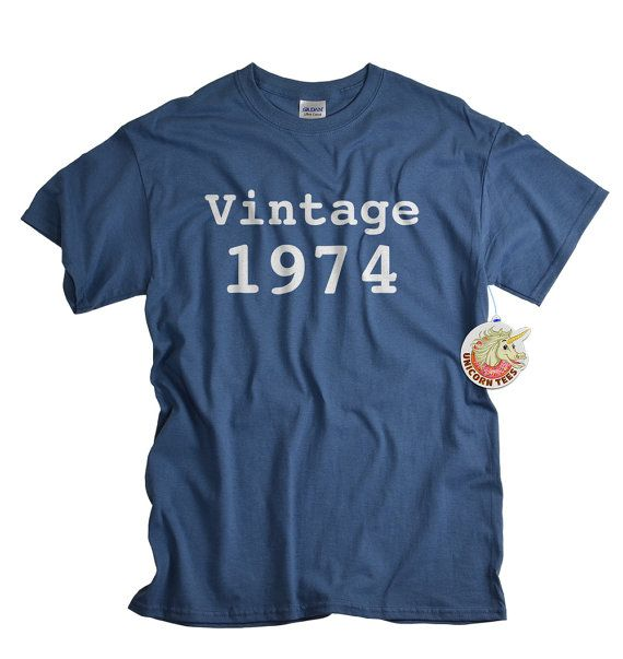 40th+birthday+gift+40+birthday+shirt+for+man+or+by+UnicornTees