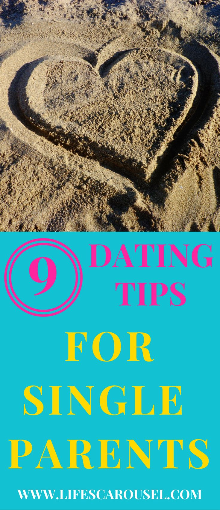 Really useful DATING TIPS for single parents. Dating is hard... dating as a single parent is nearly impossible!
