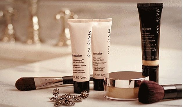 Mary Kay Foundations & Mary Kay CC Cream Whatever coverage is right for you!