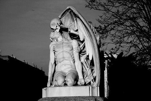 Angel de la muerte, Poble Nou, Barcelona.