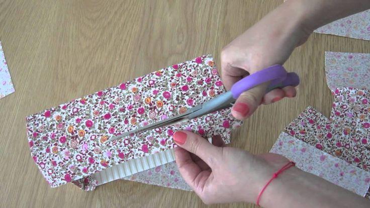17 meilleures images propos de cartonnage sur pinterest for Boite de couture originale