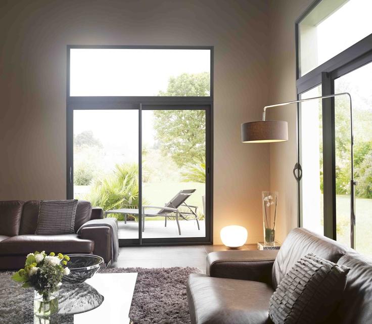 plus de 1000 id es propos de fen tres et baies coulissantes sur pinterest. Black Bedroom Furniture Sets. Home Design Ideas