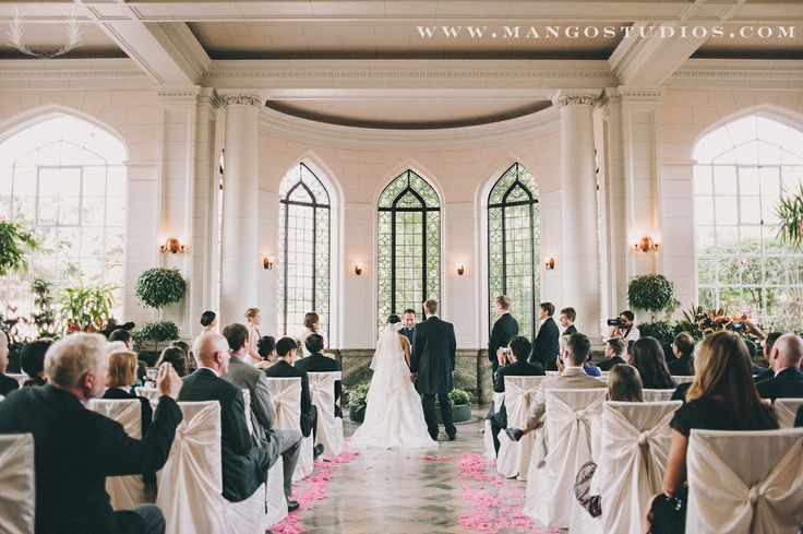 Weddings Ceremony Ido Pink White Black Petals Marble