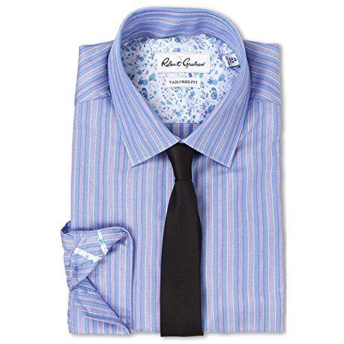 (ロバートグラハム) Robert Graham メンズ トップス 長袖シャツ Sacco Dress Shirt 並行輸入品  新品【取り寄せ商品のため、お届けまでに2週間前後かかります。】 カラー:Blue 商品番号:ol-8595439-158