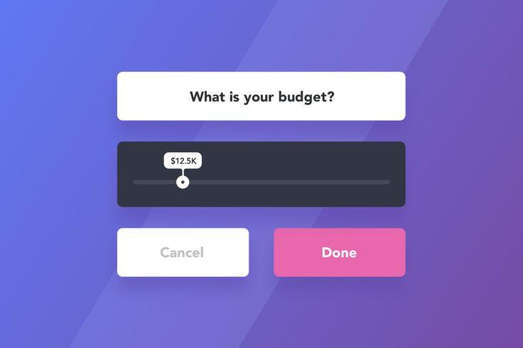 Slider Web Mobile Widget : Cerpow