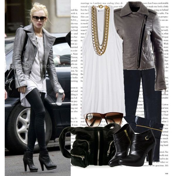 Celebrity Style: Lindsay Lohan, created by lolahaze on Polyvore