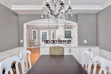 Sherwin Williams Dorian Gray Looks Great With The White