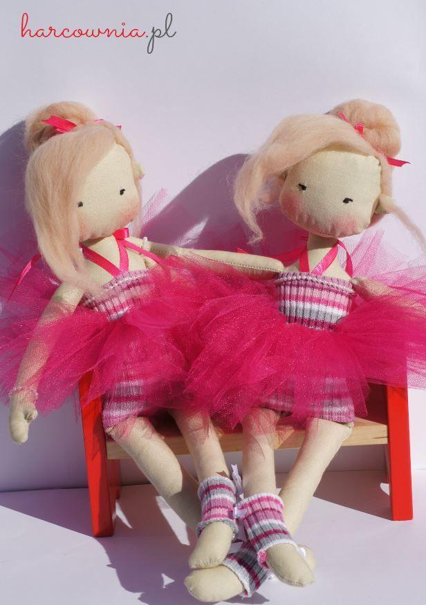 """galeria - Unikaty tworzone z miłością i pasją http://harcownia.pl """"Basia"""" różowa baletnica"""