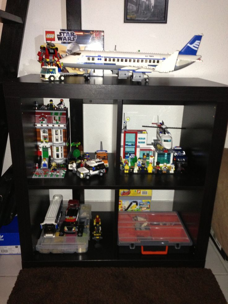 lego storage expedia shelf to display - Boys Room Lego Ideas