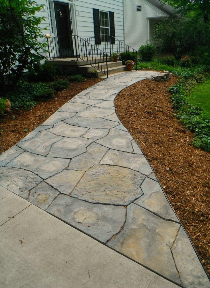 Rosetta Grand Flagstone Walk Kim S Design Projects
