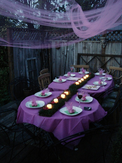 Enchanted Evening Spread Tablescapes Table Settings