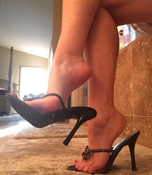 Think, that dangling high heels mules tgp