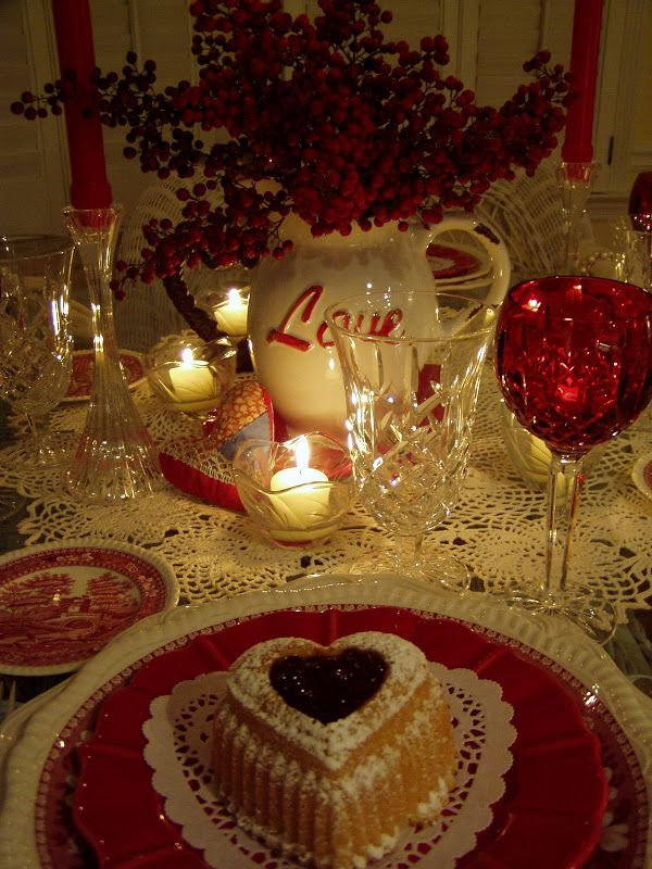 62 best valentine's day table settings images on pinterest | desk, Ideas