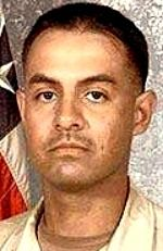 Army SSG Juan De Dios Garcia-Arana, 27, of Los Angeles, California. Died April 30, 2005, serving during Operation Iraqi Freedom. Assigned to 5th Battalion, 5th Air Defense Artillery Regiment, 2nd Infantry Division, Camp Hovey, Korea. Died of wounds sustained when hit by enemy small-arms fire during combat operations in Khaladiyah, Anbar Province, Iraq.