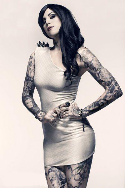 Kat von D #tattoo