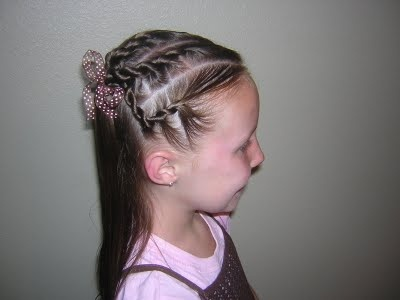 Hairstyle for school/church