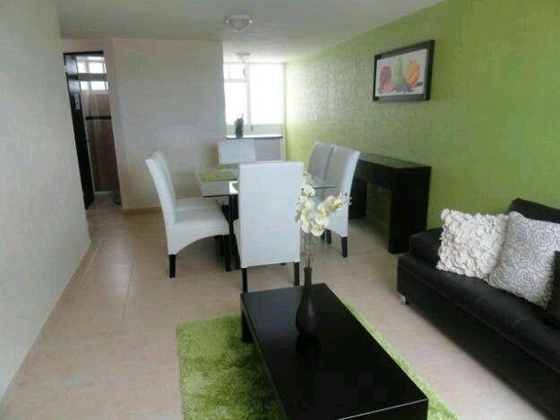 M s de 25 ideas incre bles sobre salas peque as en - Colores para pintar una casa pequena ...