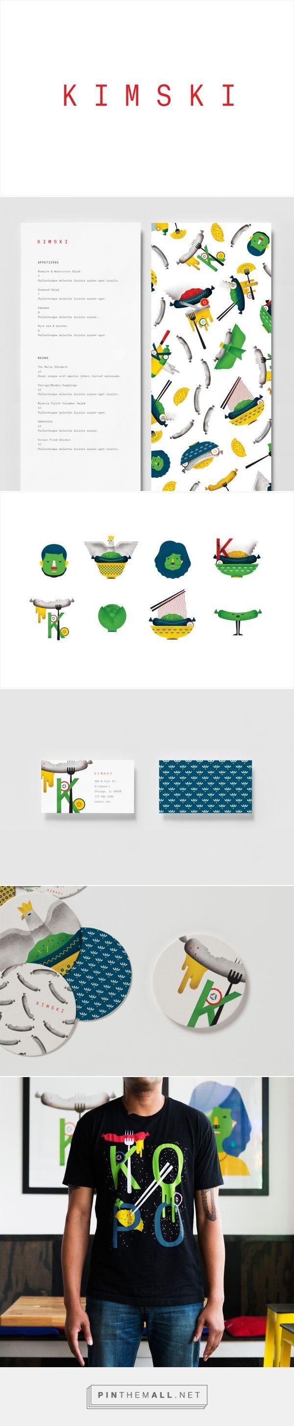 Kimski Restaurant Branding by Franklyn