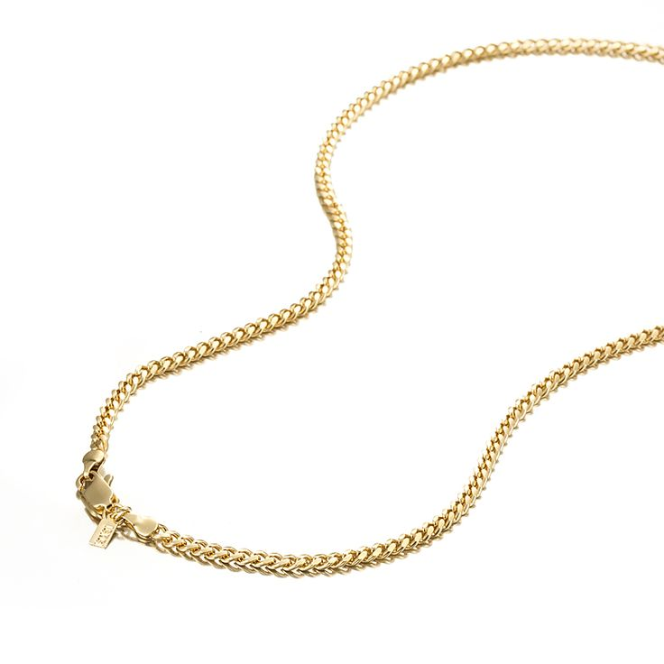 18ct Yellow Gold Layered Curb Chain Necklace with Lobster Clasp | Allure Gold