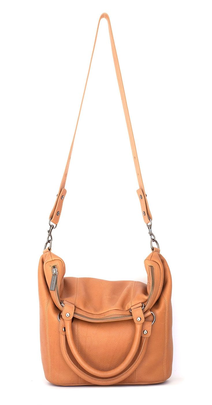 Some secret place leather bag in tan | hardtofind.