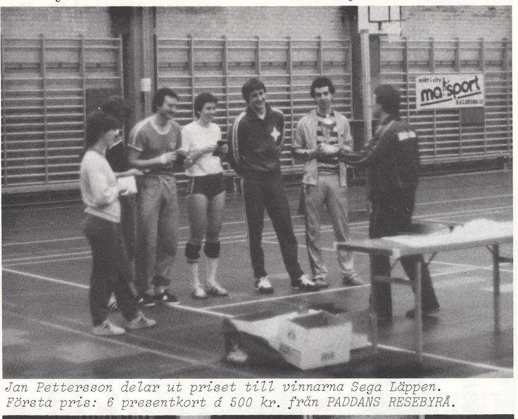1981 Paddan Cup i volleyboll var en riktigt stor tävling i Malmö då det begav sig