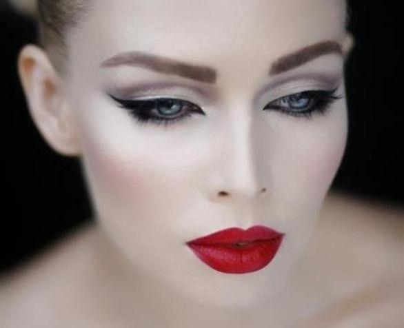 Love this dramatic makeup look #makeup