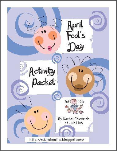 April Fools Day printables