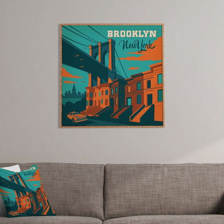 Anderson Design Group NYC Brooklyn Framed Wall Art – #giftguide #under200 #unique #holiday