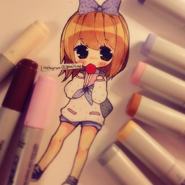 i ate too much today +___+ I don't feel like doing anything (◎ー◎) #art #drawing…