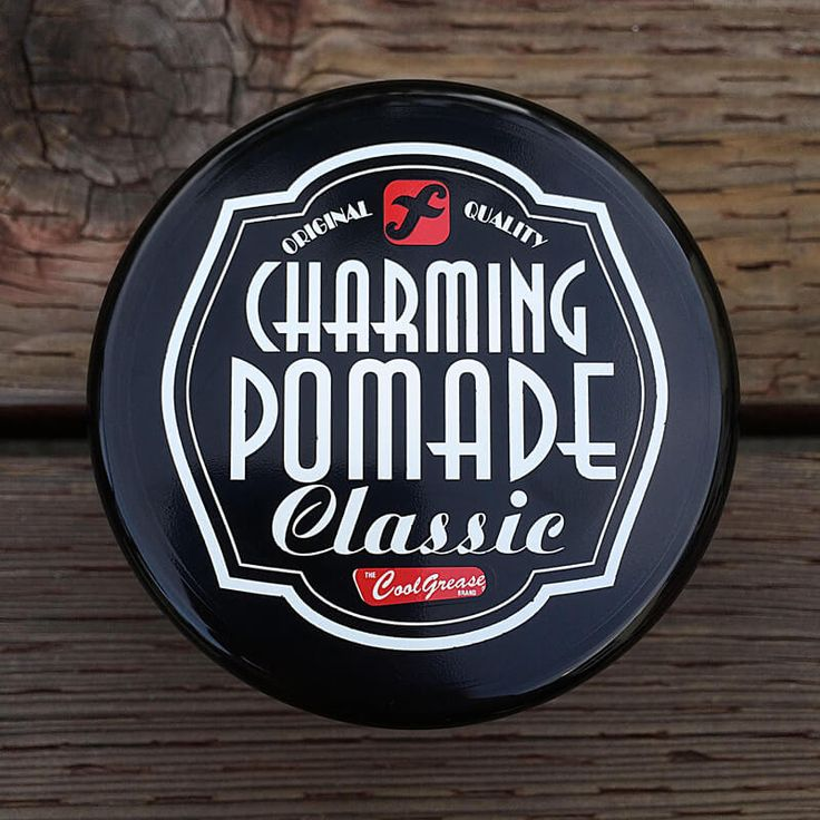 Cool Grease – Charming Classic Pomade (Oil Based Pomade)