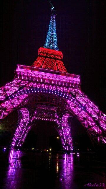 Paris - City of colourful light