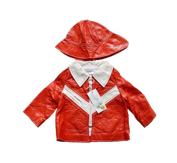 FRENCH VINTAGE 70's / for babys / raincoat / by Prettytidyvintage