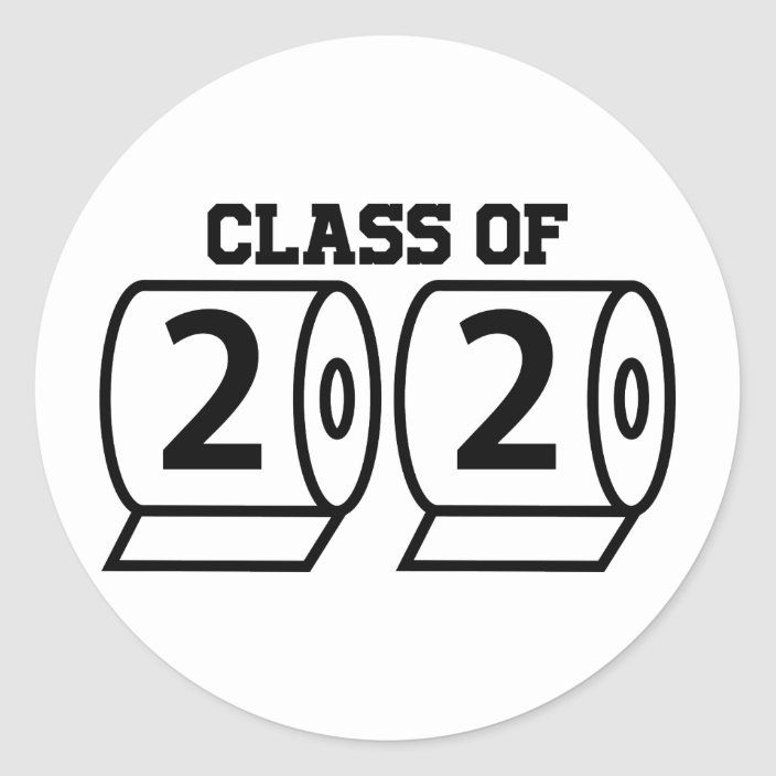 Class of 2020 Graduation 19Covid Toilet Paper Hat or Shirt Pin back button