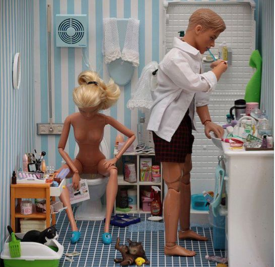 "Barbie's ""Realistic Expectations"" Dream House"