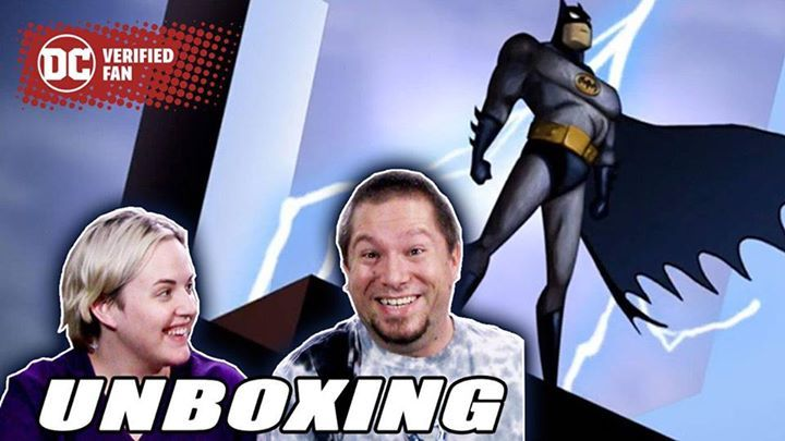 They are vengeance! They are the night! They are Geeksiders, unboxing the new Legion of Collectors box full of BATMAN: THE ANIMATED SERIES loot on the #DCFansChannel! P.S. Congrats to them on a little unboxing of their own! https://youtu.be/QndqkMEEiXE #Batman #dccomics #superman #manofsteel #dcuniverse #dc #marvel #superhero #greenarrow #arrow #justiceleague #deadpool #spiderman #theavengers #darkknight #joker #arkham #gotham #guardiansofthegalaxy #xmen #fantasticfour #wonderwoman #catwoman…
