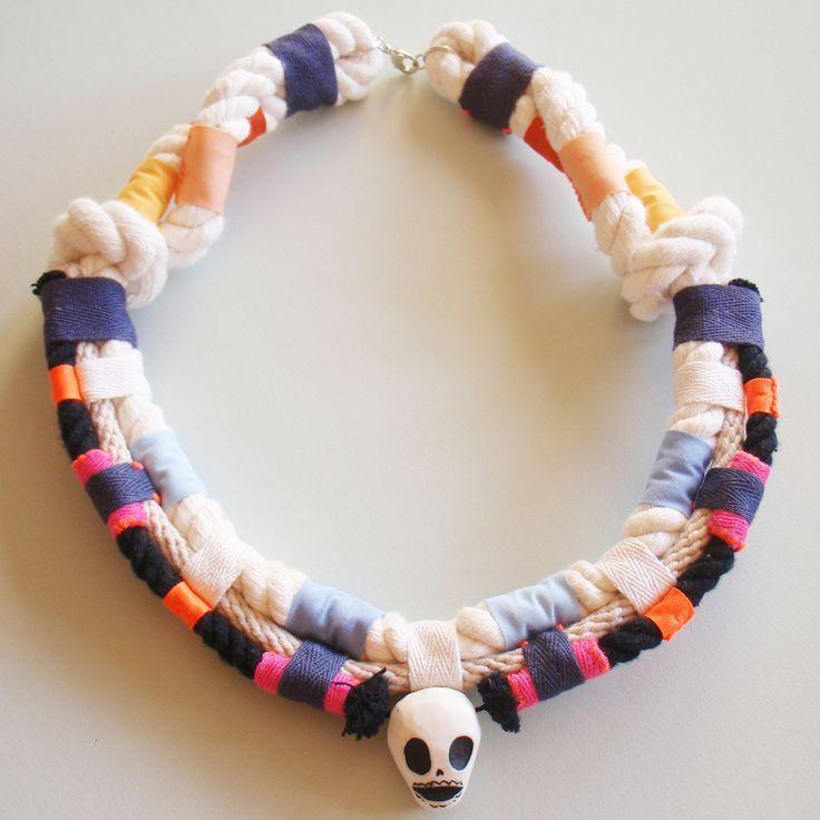 Shuh. X Georgie Cummings collaboration necklaces.
