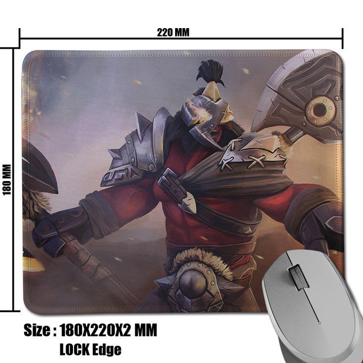 Hot Game Dota 2 Axe Bersekers Burning Rage Wallpaper Non-Skid Comfort Optical Gamer Speed Mouse Mat High Quality