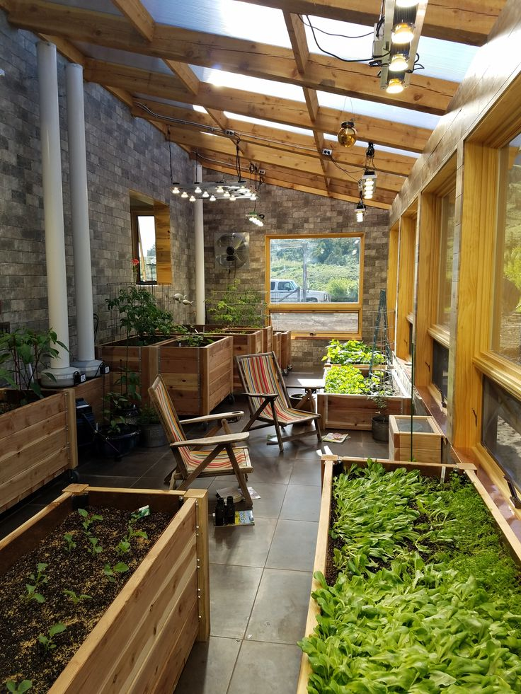 Greenhouse Attached To House In Cody Wyoming With Images
