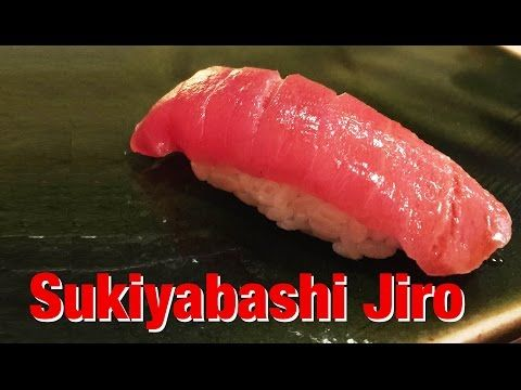 Sukiyabashi Jiro - worlds best sushi? - YouTube