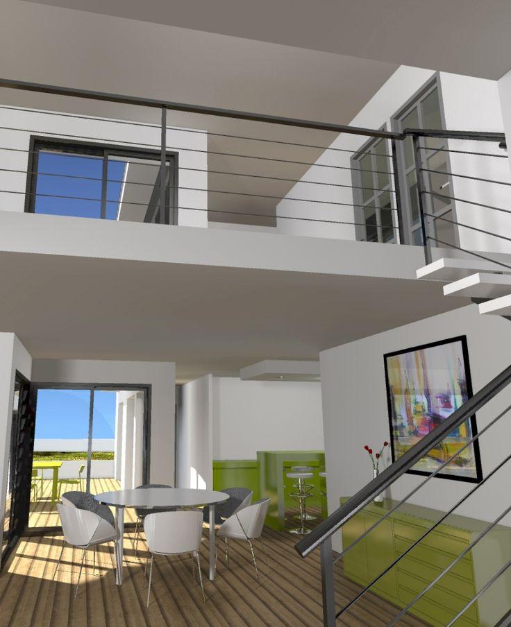 10 besten Maison contemporaine toit plat, architecture design ...