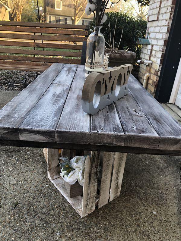 Rustic Wood Estates Table For Sale In Virginia Beach Va Used