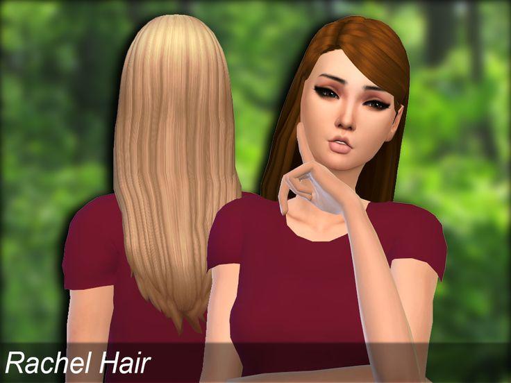 Mikerashi: Rachel Hair - Sims 4 Hairs - http://sims4hairs.com/mikerashi-rachel-hair/